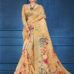 sophisticated-multi-color-linen-designer-digital-print-saree