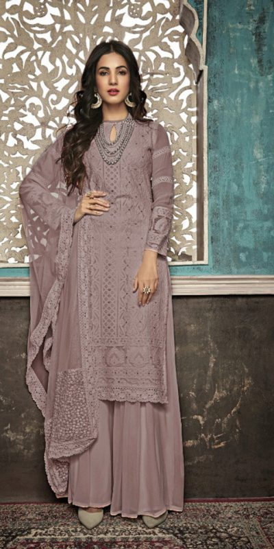 alluring-grey-color-heavy-fox-georgette-with-embroidery-work-stone-suit