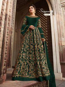 green-color-heavy-net-cordingstone-work-wedding-anarkali-suit