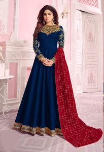 harmonious-blue-color-pure-dola-silk-exclusive-festival-wear-anarkali-suit
