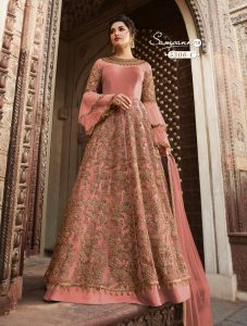 pink-color-heavy-net-cordingstone-work-wedding-anarkali-suit