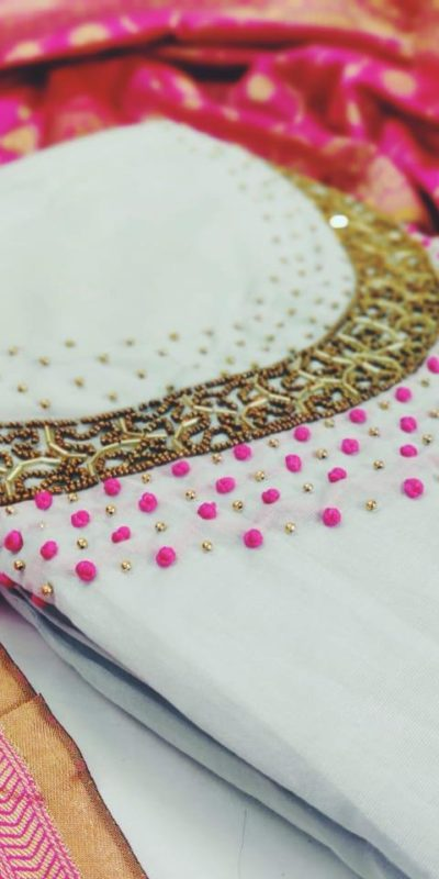 yammy-white-color-pure-modal-silk-salwar-suit-with-colorful-banarasi-dupatta