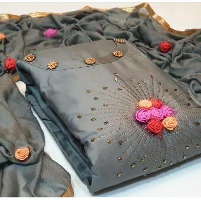 captivating-grey-color-glace-cotton-with-hand-work-salwar-suit