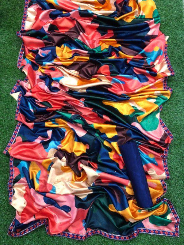 deepika-padukone-multicolour-sabyasachi-sari-earrings-bangles-heels-mumbai