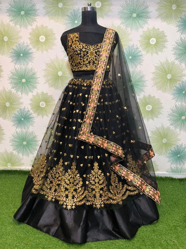 elegant-block-heavy-mono-net-exclusive-wedding-wear-lehenga-choli