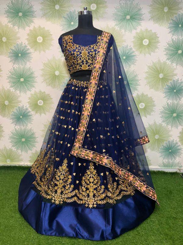 elegant-royal-blue-heavy-mono-net-exclusive-wedding-wear-lehenga-choli