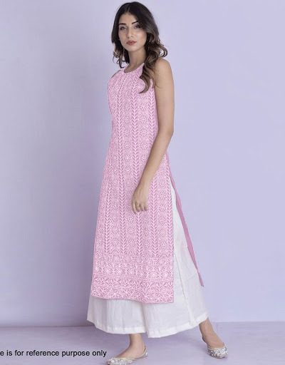 harmonious-pink-color-glace-cotton-with-multi-work-kurti-with-plazzo
