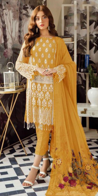 harmonious-yellow-color-heavy-georgette-with-embroidery-work-sequence-suit