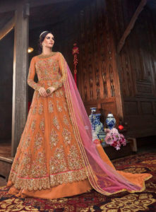 immortal-orange-color-vaishnavi-net-with-stone-work-sharara-suit
