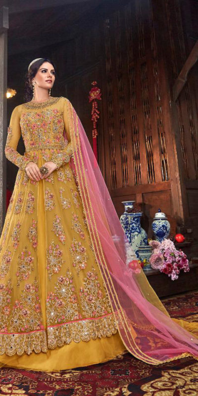 immortal-yellow-color-vaishnavi-net-with-stone-work-sharara-suit