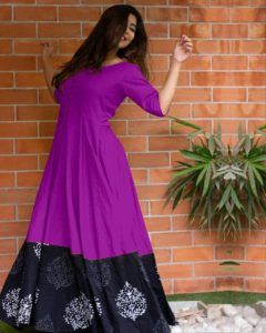 miraculous-purple-color-heavy-rayon-party-wear-long-flair-gown