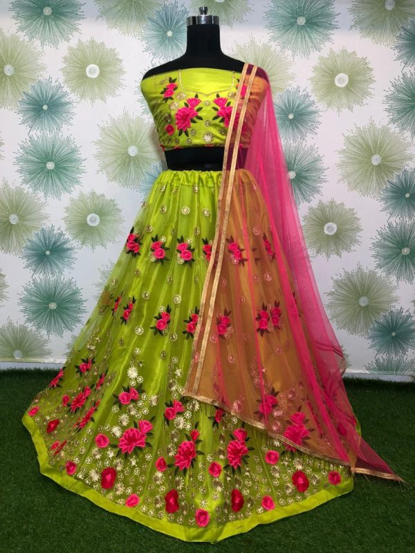 vibrant-light-green-color-heavy-net-exclusive-wedding-wear-lehenga-choli