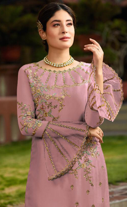 vibrant-pink-color-satin-georgette-embroidery-work-stone-suit