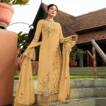 vibrant-yellow-color-satin-georgette-embroidery-work-stone-suit