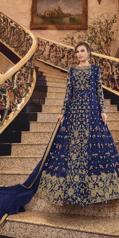 Swagat-Violet-Snowwhite-6301-6312-Series-Bridal-Dresses-Indian-Party-Wear-Dresses-Wholesaler