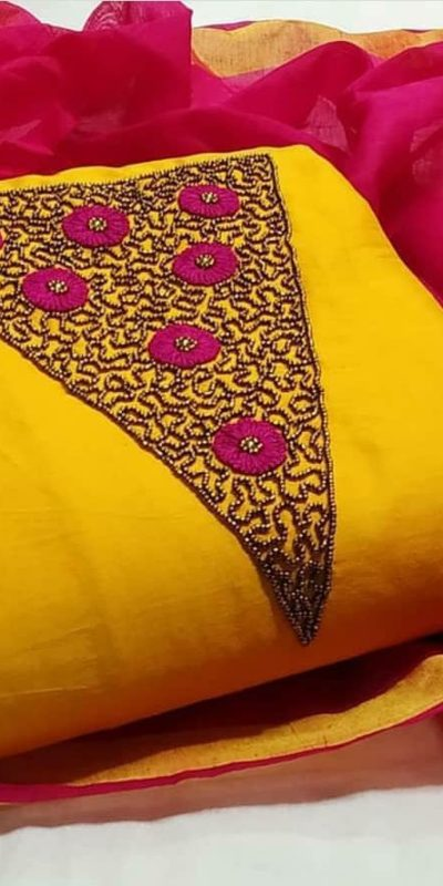 alluring-yellow-color-modal-chanderi-silk-wedding-wear-salwar-suit