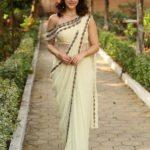 actress-mehreen-pirzada-in-pure-georgette-thread-sequnce-work-saree
