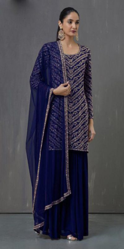 adorable-blue-color-heavy-fox-georgette-with-embroidery-work-salwar-suit