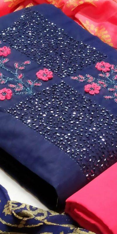 attractive-navy-blue-color-cotton-hand-stone-work-designer-salwar-suit