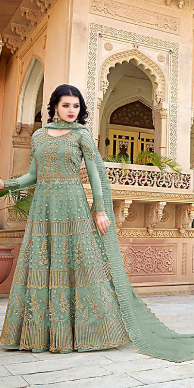 dazzling-mint-color-heavy-net-with-embroidery-work-wedding-wear-gown