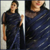 elegant-party-wear-navy-blue-color-pure-georgette-sequence-work-fancy-saree