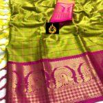 enchanting-Green -color-pure-mercerised-cotton-silk-traditional-wear-classic-saree-copy