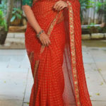 hypnotic-modal-cotton-with-fancy-chex-embroidery-pearl-work-saree
