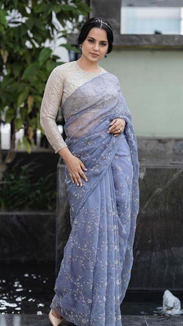 kangana-ranaut-in-lilac-organza-with-fancy-rich-sequence-work-saree