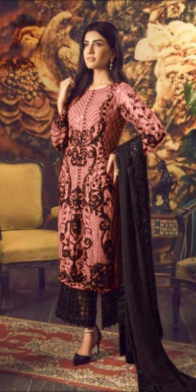 magical-pinkcolor-heavy-georgette-with-embroidery-sequence-work-suit