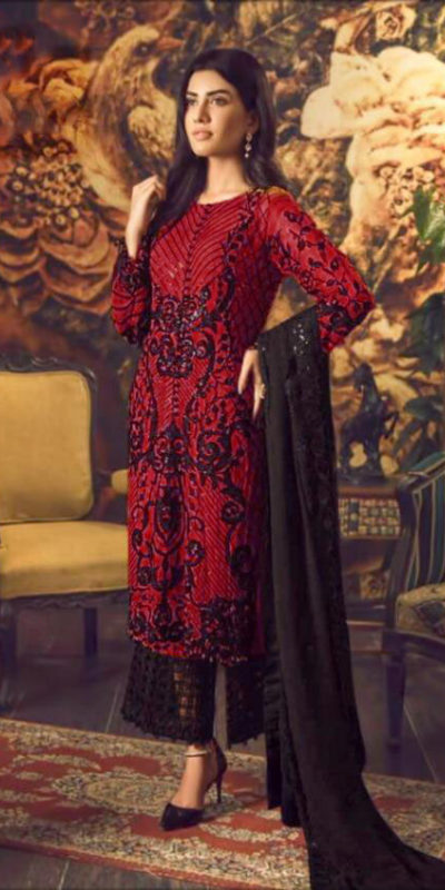 magical-red-color-heavy-georgette-with-embroidery-sequence-work-suit