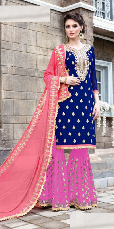navy-blue-pink-color-glamorous-fox-georgette-with-embroidery-work