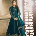 perfect-sea-green-color-faux-georgette-with-embroidery-stone-work-anarkali-suit