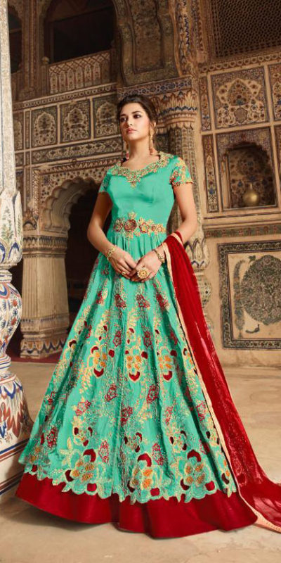 picturesque-sea-green-color-heavy-net-embroidered-codding-stone-work-sharara-suit