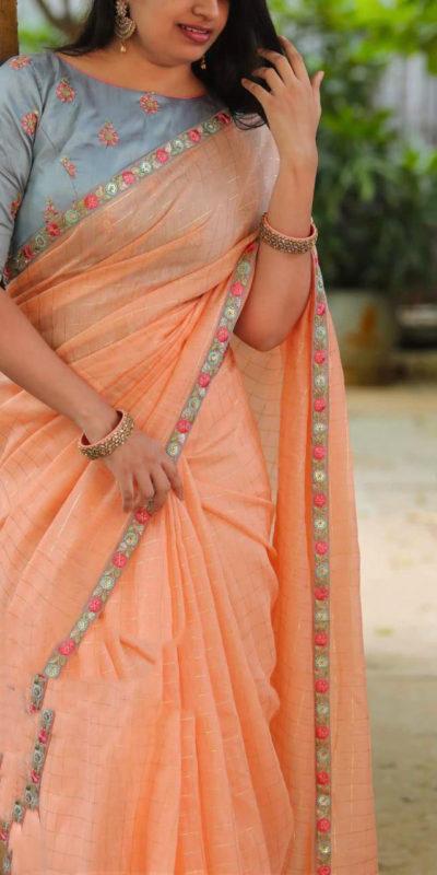 ravishing-heavy-cotton-chex-with-heavy-embroidery-work-saree