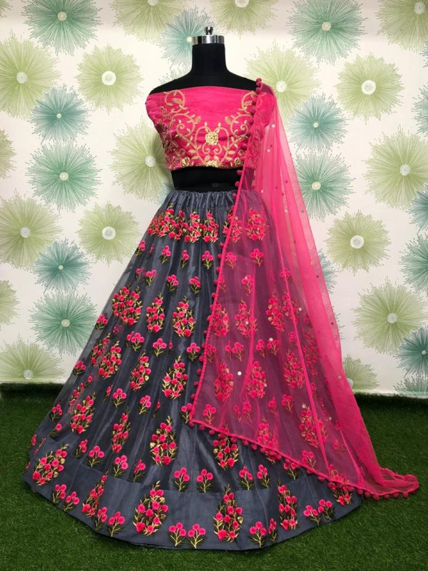zari-and-classic-embroidery-work-grey-color-heavy-net-party-wear-lehnga-choli