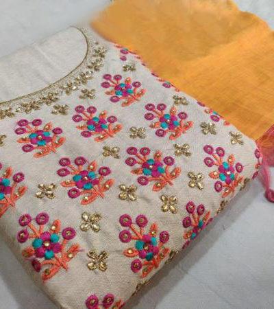 graceful-yellow-pink-color-semi-model-silk-wedding-wear-salwar-suit