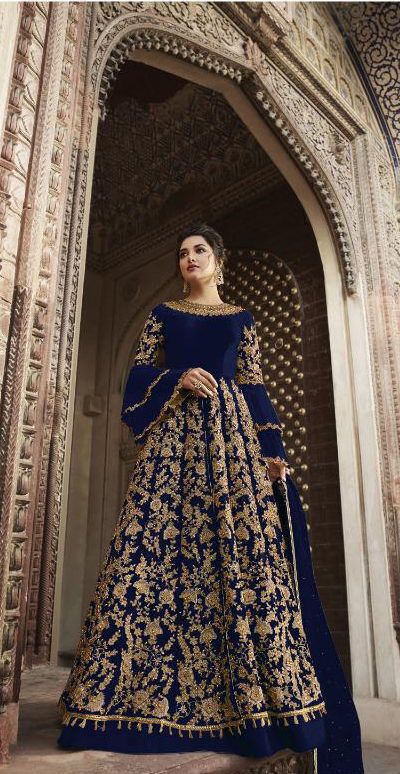 blue-color-heavy-net-cordingstone-work-wedding-anarkali-suit