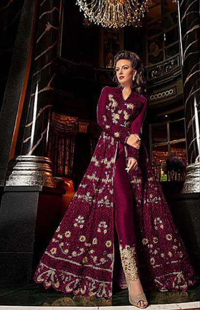 breathtaking-maroon-color-heavy-net-with-embroidery-work-anarkali-suit