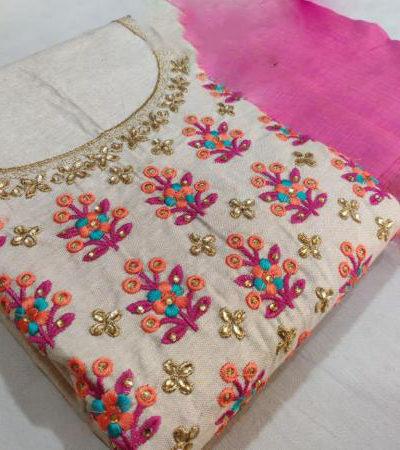 graceful-pink-color-semi-model-silk-wedding-wear-salwar-suit