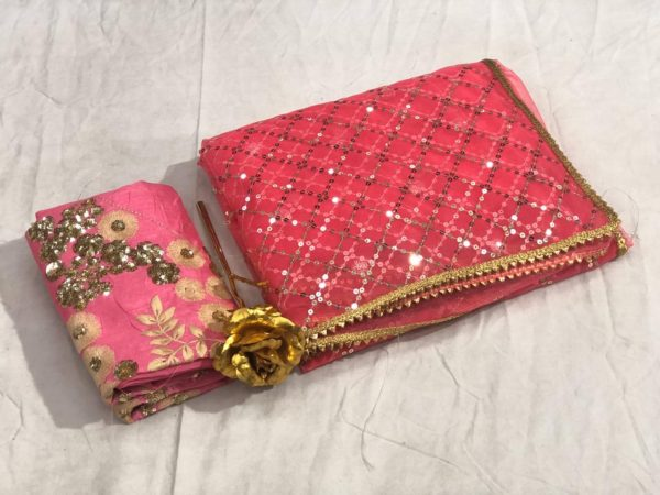 impeccable-pink-color-soft-mono-net-with-heavy-sequence-work-saree