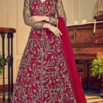 mesmerizing-red-color-heavy-net-with-embroidery-work-wedding-wear-anarkali-suit