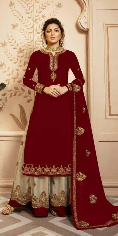 perfect-red-color-satin-georgette-and-cording-work-dual-style-salwar-lehengaperfect-red-color-satin-georgette-and-cording-work-dual-style-salwar-lehenga