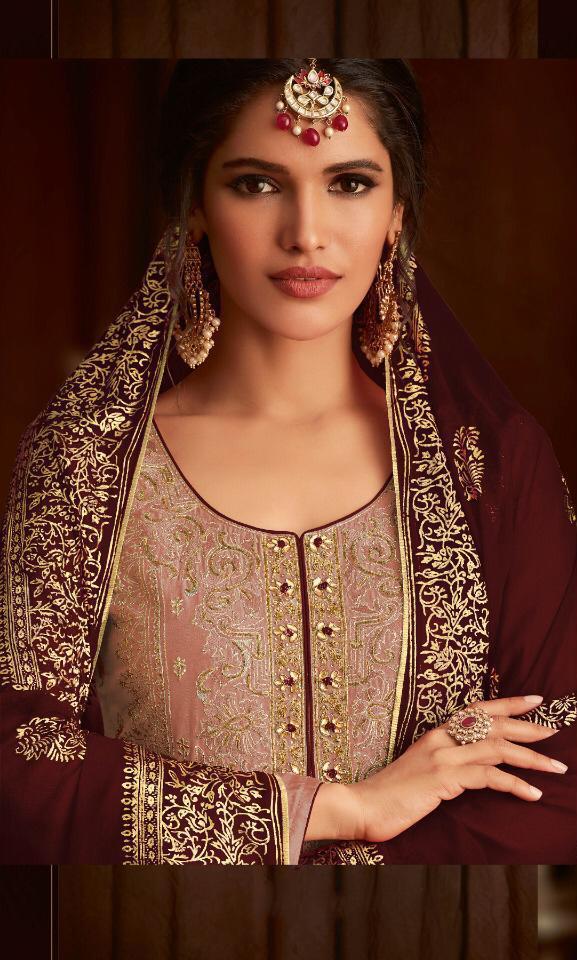 stunning-brown-color-heavy-faux-georgette-wedding-wear-salwar-suit
