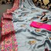 stunning-grey-color-moss-chiffon-soft-silk-wedding-party-wear-saree