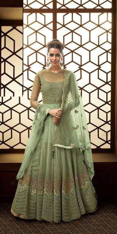 vibrant-green-color-heavy-net-with-embroidery-work-stone-work-anarkali-suit