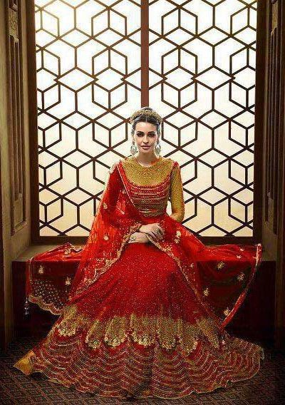 vibrant-red-color-heavy-net-with-embroidery-work-stone-work-anarkali-suit