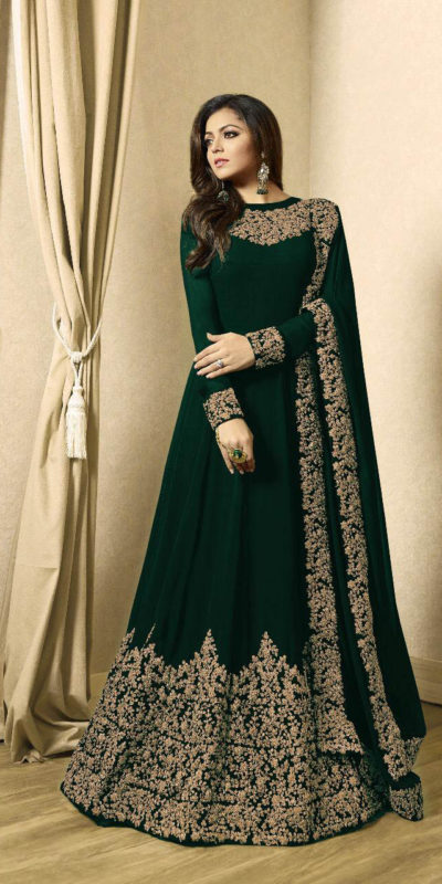 drashti-dhami-dark-green-vaishnavi-georgette-floor-length-anarkali