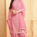 luminous-pink-color-heavy-faux-georgette-traditional-wear-sharara-salwar-suit