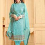 luminous-sea-blue-color-heavy-faux-georgette-traditional-wear-sharara-salwar-suit