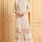 luminous-white-color-heavy-faux-georgette-traditional-wear-sharara-salwar-suit